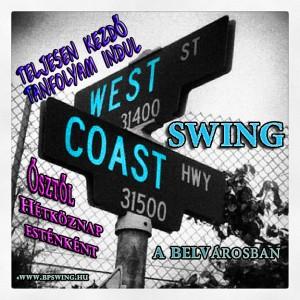 west coast-jam ősztől